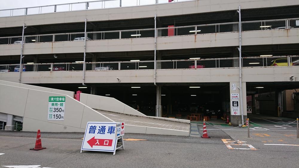 兼六園の駐車場