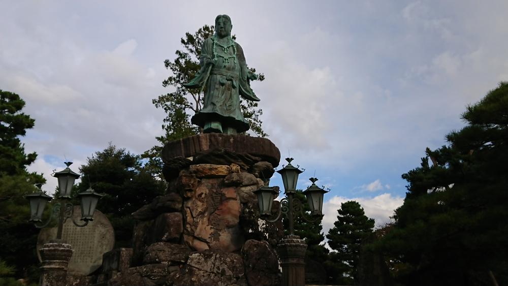 兼六園のヤマトタケル像について